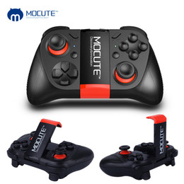 Discount ps4 remotes - game pad MOCUTE 050 VR Gamepad Android Joystick Bluetooth Controller Portable Game Pad Selfie Remote Control Shutter for
