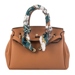 orange purses UK - 2019 Single Strap Bags Handbag Designer Plain Bags Organized Women Crossbody bags Functional Beautiful Purse Daidai 5