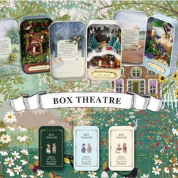 $enCountryForm.capitalKeyWord Australia - Box Theatre Romantic Theme Miniature Scene Diy Mini Doll House 3d Wooden Miniature Puzzle Toy Decor Collection Gift Toy Y19070503