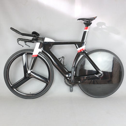 $enCountryForm.capitalKeyWord Australia - 700C Complete Bike TT Bicycle Time Trial Triathlon Carbon Fiber Carbon Black Painting Frame with DI2 R8060 groupset