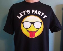 $enCountryForm.capitalKeyWord NZ - LET'S PARTY EMOJI STYLE CRAFT BEER DRINKING PARTY T SHIRT COLLEGE HUMOR COOL T Funny free shipping Unisex Casual top shirt