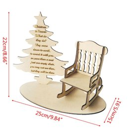 memorial trees 2019 - Christmas In Heaven Remembrance Loved One Christmas Tree Craft Memorial Gift E65B discount memorial trees