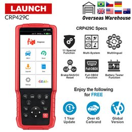 Code Engine Australia - LAUNCH X431 CRP429C OBD2 Code Reader for Engine ABS SRS AT+11 Service CRP429 Car Diagnostic Tool PK CRP TOUCH PRO CRP129 CR 9081