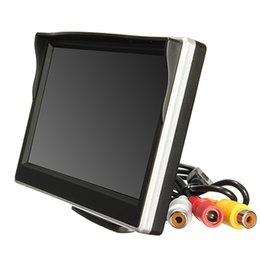 """China 5"""" 800*480 TFT LCD HD Screen Monitor For Car Rear Reverse Rearview Backup Camera D.6 supplier rearview monitor screen for car suppliers"""