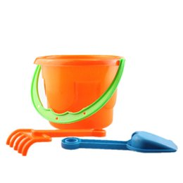 $enCountryForm.capitalKeyWord Australia - New Arrival Baby Kids Sandy beach Toy Dredging tool Beach Bucket Sunglass Baby playing with sand water toys
