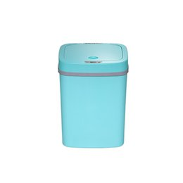 Steel Induction UK - 12L Automatic Trash Can Touchless Intelligent Induction Garbage Bin With Inner Bucket Contactless Circulator Quiet Lid Close Can Yellow
