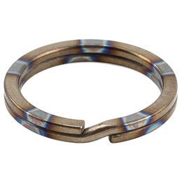 $enCountryForm.capitalKeyWord UK - Titanium Alloy Hanging Ring Outdoor Small Tool Key Ring Mountain Climbing 1Pcs