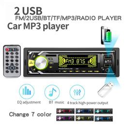 Car 12v Usb Australia - 2019 New products Bluetooth Autoradio Car Stereo Radio FM Aux Input Receiver SD USB 12V In-dash 1 din Car MP3 Multimedia Player
