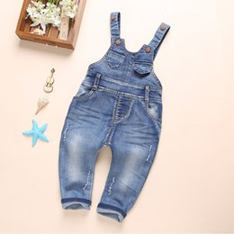Cowboys Clothes Australia - Children Baby Boy Jeans Pants 0-4 Years Fashion Classical Cowboy Trousers High Qulity 2019 New Style Kids Clothing