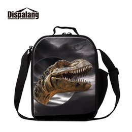 lunch bags boys Australia - Dispalang Dinosaur Lunch Bags for Children School Insulated Lunch Cooler Bag for Kids Boys Cool Container Pincic Meal