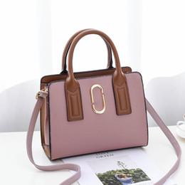 Gold Pink Rings For Women Australia - Bags for Women 2019 Metal Ring PU Crossbody Bags Women Handbags Luxury Handbags Designer High Quality