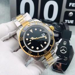 Ouro 2813 Top marca de homens de luxo Cerâmica Bezel Mens Relógio Mecânico Automático de Movimento Em Aço Inoxidável Relógios de Esportes Auto-vento relógio de Pulso venda por atacado