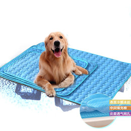 canopy dog beds Australia - Pet Elevated Cot Dog Bed Folding Pet Lounger Sleeper Mats Fashion Kennel Home Outdoor Hot Sale 65qs UU