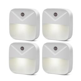 $enCountryForm.capitalKeyWord Australia - LED Night Light Dusk-to-Dawn Mini Auto Light Sensor Control EU US Plug LED Night Lamp For Kids Bedroom Bedside Lamp