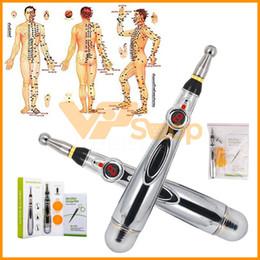 الوخز بالإبر الإلكترونية القلم الكهربائية ميريديان تدليك القلم العلاج بالليزر شفاء ميريديان الطاقة القلم أدوات تخفيف الألم