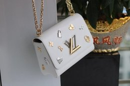 $enCountryForm.capitalKeyWord Australia - Lady Package Women S Shoulder Bag Girl Fashion Accessories 2019 New Products Boutique Pretty Gorgeous Dotted Lock Key Flower 23*18*8cmb