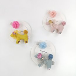 Hair Clip Cover Baby UK - Cute Children Hair Clip Hair Barrettes Accessories Headwear Kids Baby Girls pins Full Cover Clips BB040