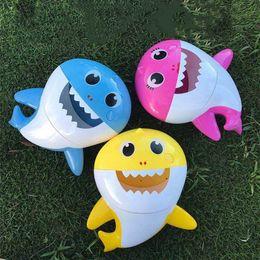 $enCountryForm.capitalKeyWord Australia - Bath tools Baby Shark Bath Bubble Maker With Music Kids Bath Toy Pool Swimming Bathtub Soap Machine Shower Companion 5072