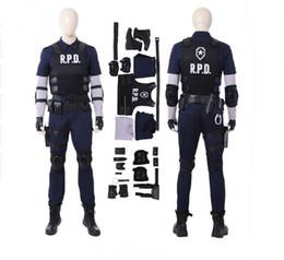$enCountryForm.capitalKeyWord Australia - New Arrival Resident Evil 2 Cosplay Costume Women Leon Cosplay Costume Halloween Costumes For Men Game Suit Custom Made