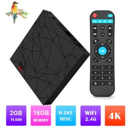 Best Android Tv Boxes Australia - Best selling products M9S W5 1GB 8GB 2GB 16GB Android 7.1 TV BOX Amlogic S905W Quad Core 2.4GHz WiFi Android Box Better X96 MINI TX3 MINI