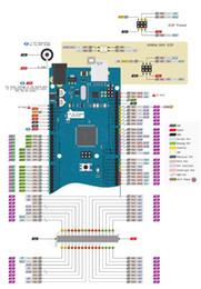 Mega Player Australia - 1pcs Mega 2560 R3 ATmega16U2 Development Board + USB Cable Diy Starter Kit ATmega2560 Mega2560