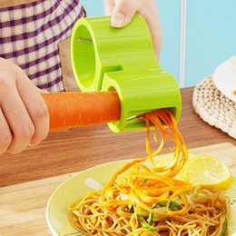 $enCountryForm.capitalKeyWord Australia - Spiralizer Spiral Slicer Zucchini Noodle Pasta Spaghetti Spirals Maker Cutter Peeler vegetable kitchen gadgets cutter peeler wh0009