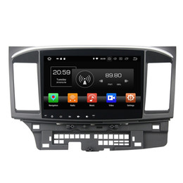 Lancer gps dvd online shopping - 4GB RAM GB ROM Octa Core quot Android Car DVD Player for Mitsubishi Lancer DRS Radio GPS WIFI Bluetooth USB Mirror link
