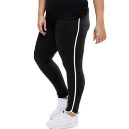 $enCountryForm.capitalKeyWord NZ - Leggings Women Plus Size Striped Running Fitness Leggings Workout Sports Stretchy Pants Sweatpants Trousers Clothes