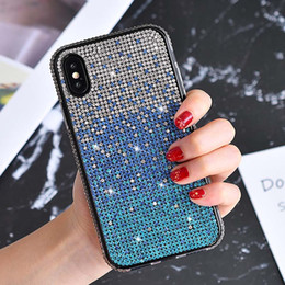 samsung new model phones Canada - 2020 New Case For Iphone 11 Gradient Phone Case For Apple 6s Plus Creative Diamond Protective Sleeve Female Models