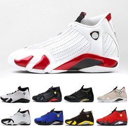 price cream 2019 - 14s 14 Basketball Shoes Last Shot Desert Sand Bred Black Toe Red Car Black Yellow Mens Women Trainers Cheap Price Size40