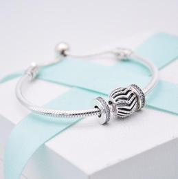 $enCountryForm.capitalKeyWord NZ - Pandora style charms Sterling Silver 925 bracelet cat eyes stone simple chain bracelet c multicolored snake chain hot selling diy jewelry