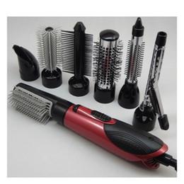 $enCountryForm.capitalKeyWord Australia - 7 In 1 Hot Air Professional Hair Styler 3 Speed 100v-240v Electric Curler   Hot Hair Brush  hair Dryer Styling Tools Set T190814