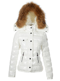 Womens Parkas UK - Classic Brand Women Winter Warm Down Jacket With Fur collar Dress Jackets Womens Outdoor Down Coat Woman Fashion Jacket Parkas XS-XXL