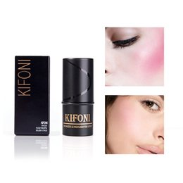 blush sticks 2019 - KIFONI Makeup Face Blusher Stick Long-lasting Cheek Blusher 4Colors Baked Shadow Blush Bronzer Face Contour TSLM1 cheap