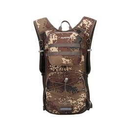 1e5a495c3d3f Kimlee Hydration Durable 600D Backpack 12L Running Hiking Climbing Pack  Cycling Bladder Bag Waterproof Outdoor Camping Bag