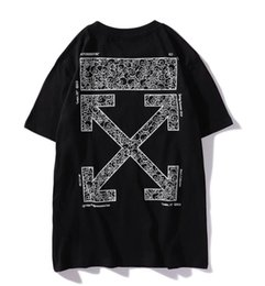 Brand Names Clothes NZ - Designer brand T-shirt OFF luxury ss brand tide brand OW joint name Murakami letter printing designer T-shirt shirt Sweatshirt clothing