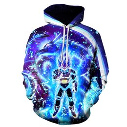 China Hot Anime Hoodies Men Women 3D Sweatshirts Super Saiya Vegeta Kids Goku Hoodie Male Casual Coat Cartoon Boys Outwea cheap cartoon hot super suppliers