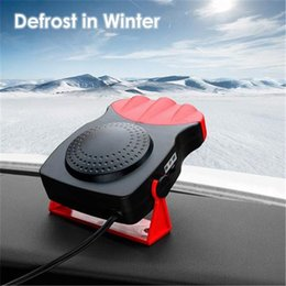 Free Cooling Fan Australia - 150W Protable Auto Car Heater Heating Cooling Fan Windscreen Window Demister DEFROSTER Driving Defroster Demister 12V Free Shipping