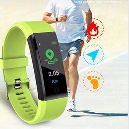 Step tracker watch online shopping - B05 Smart Bracelet Watch Heart Rate Monitor Colorful Smart Wristband Step Counter Sport Bracelet Health Tracker