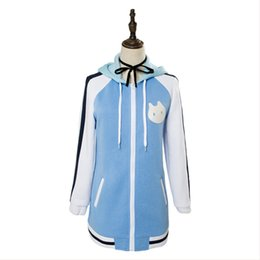 Wholesale video game costumes online – ideas Video Game ISLAND Cosplay Ohara Rinne Cosplay Costume Adult Men Women Outfit Hoodie Coat Halloween Carnival Cosplay Costumes