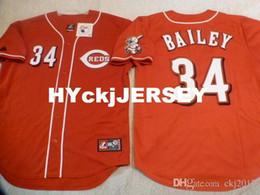 $enCountryForm.capitalKeyWord Australia - Cheap custom MAJESTIC #34 HOMER BAILEY SEWN Baseball Jersey W RED LEG PATCH Mens stitched jerseys Big And Tall SIZE XS-6XL For sale
