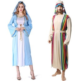 Wholesale robes costumes resale online - Party Cosplay Ball Costume Halloween Theme Cos Costume Adult Middle Arab Arabian Robe Clothes Aladdin Dubai Girls Costume Set