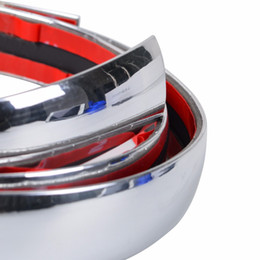 $enCountryForm.capitalKeyWord UK - Universal Chrome Car Styling Moulding Strip Body Bumper Auto Door Protective Trim Sticker Exterior Decoration 6mm 8mm 10mm 12mm 15mm 18mm