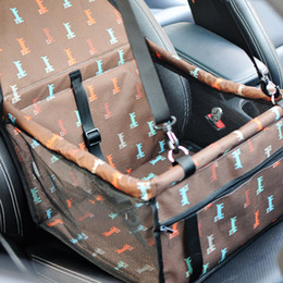 $enCountryForm.capitalKeyWord Australia - Pet Dog Carrier Car Seat Pad Safe Carry House Cat Puppy Bag Car Travel Accessories Waterproof Dog Seat Bag Basket Pet Products