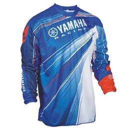 $enCountryForm.capitalKeyWord Australia - Wholesale Motocross Jersey Downhil Mountain Bike Dh Shirt Mx Motorcycle Clothing Ropa Fit For Yamaha Men Quick Dry Mtb T112