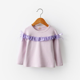 527bf0af896c good quality girls spring autumn sweater children cotton striped pullover  tops for baby girl kids casual long sleeve sweater clothes