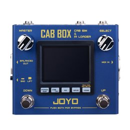 $enCountryForm.capitalKeyWord Australia - JOYO R-08 CAB BOX Guitar Multi Effects Pedal IR Box Simulation IR Loader Electric Guitar Effects Processor Stereo MIDI Devices