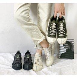 $enCountryForm.capitalKeyWord Australia - SJfashionsalon 19S S INS Hottest Sale Men Classic Stylish Plain Color Low-cut Casual Comfortable Canvas Shoes