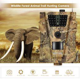 Camera Wildlife NZ - hunting Camera 12MP 1080P 30pcs Infra LEDs 850nm Trail Camera Game IR sensor 1080P FHD IP65 Waterproof Wildlife Scouting Cameras