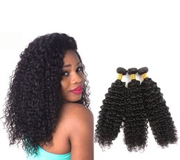 smoothing curly hair 2020 - VIYA 9A Indian Remy Human Hair Curly Bundles 10-30 inch Can Be Colored Soft And Smooth Unprocessed Virgin Hair discount
